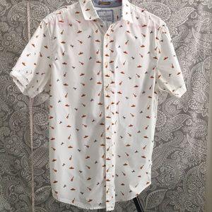 Denim &Flower shirt